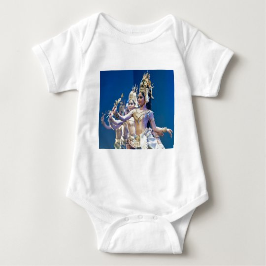Asian Dancers Baby Bodysuit