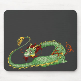 Asian Dragon Cartoon Mouse Mat