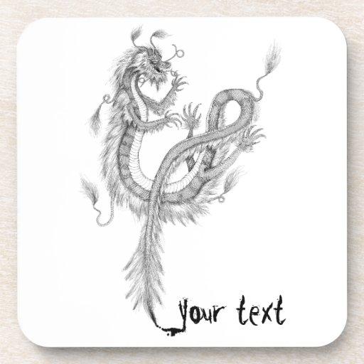 Asian Dragon Coasters