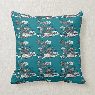Asian Dragon Cushion