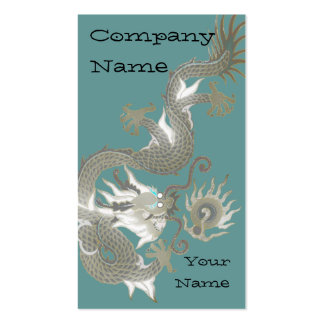 Asian Dragon Tattoo Business cards