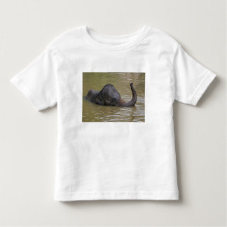 Asian Elephant bathing, Thai Elephant Toddler T-Shirt