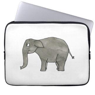 Asian Elephant. Computer Sleeve