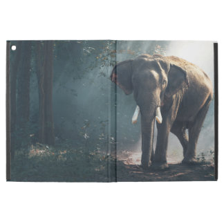 "Asian Elephant in a Sunlit Forest Clearing iPad Pro 12.9"" Case"