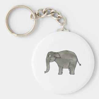 Asian Elephant. Key Ring