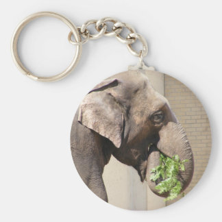 Asian Elephant Keychain