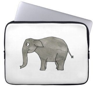 Asian Elephant. Laptop Sleeve