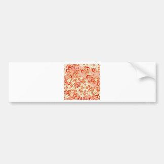 Asian Flower Blossoms Bumper Stickers