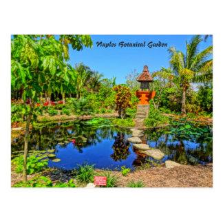 Asian Garden - Naples Botanical Garden Naples, FL Postcard