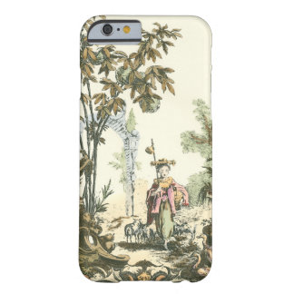 Asian Garden with Woman and Animals Barely There iPhone 6 Case