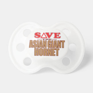 Asian Giant Hornet Save Baby Pacifier