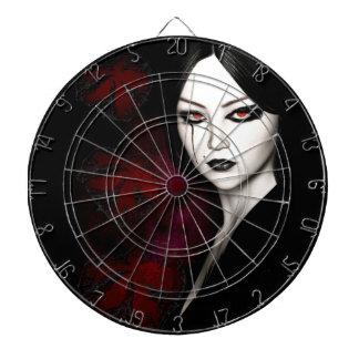 Asian gothic dartboard
