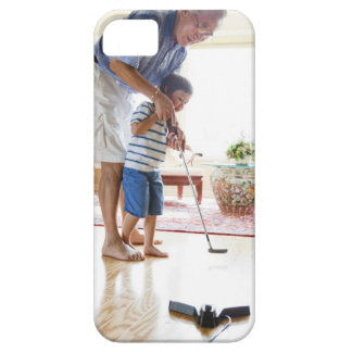 Asian Grandfather teaching his Half-Asian Barely There iPhone 5 Case