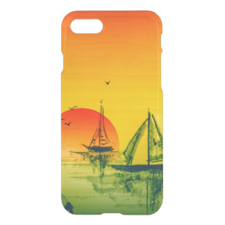 Asian Harbor & Sunset iPhone 8/7 Case