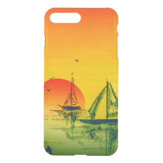 Asian Harbor & Sunset iPhone 8 Plus/7 Plus Case