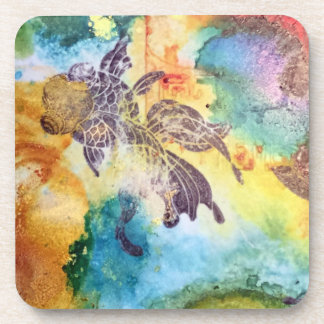 Asian-inspired fish coasters - set of 6
