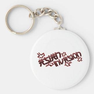 Asian Invasion Key Ring