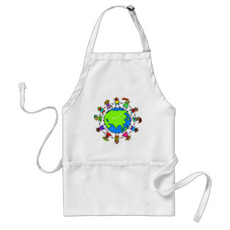 Asian Kids Standard Apron
