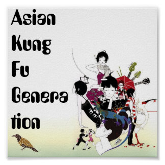 Asian Kung Fu Generation Print