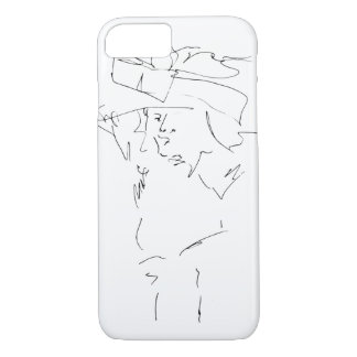 Asian Lady iPhone 8/7 Case