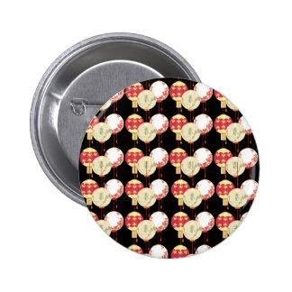 Asian Lanterns Pin