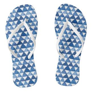 Asian Motif FlipFlops - Arndt Bloxam Flip Flops