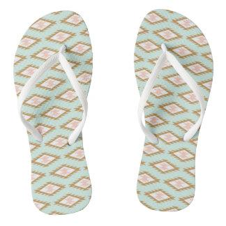 Asian Motif FlipFlops - Eugenio Columbo Flip Flops