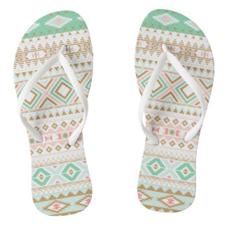 Asian Motif FlipFlops - Juda Schrader Flip Flops