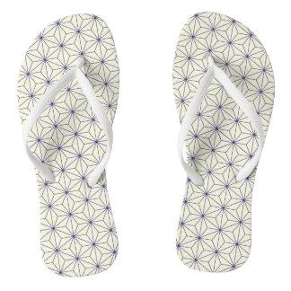 Asian Motif FlipFlops - Kun Tang Flip Flops