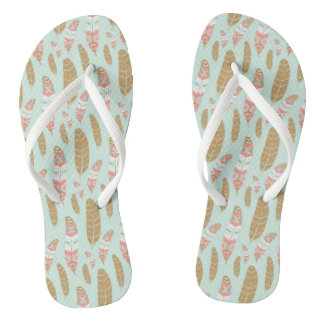 Asian Motif FlipFlops - Somboon Szwarc Flip Flops