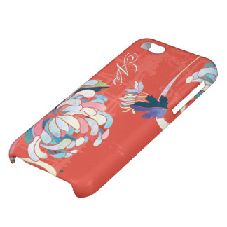 Asian Mum Floral Monogram iPhone 5C Case Savvy