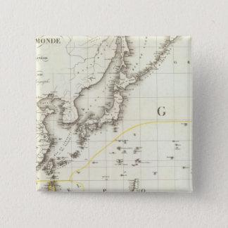 Asian Pacific 15 Cm Square Badge