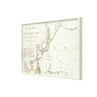 Asian Pacific Canvas Print