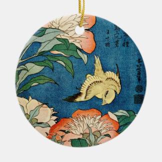 ASIAN PEONIES ornament