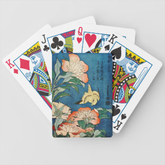 ASIAN PEONIES playing cards