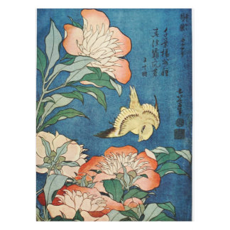 ASIAN PEONIES table cloth