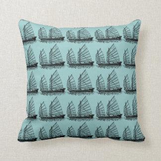 Asian ship pillow
