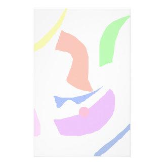 Asian Smile Stationery Design