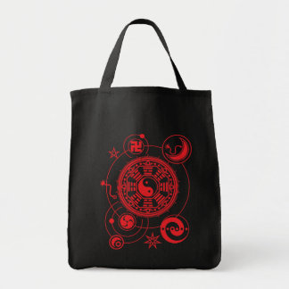 asian space tote bags