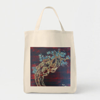 Asian Style Maple Tote Grocery Tote Bag
