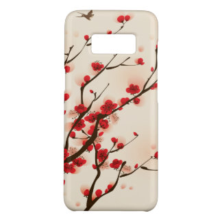 Asian Style Painting, Plum Blossom in Spring Case-Mate Samsung Galaxy S8 Case