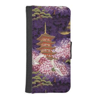 Asian Temple iPhone SE/5/5s Wallet Case