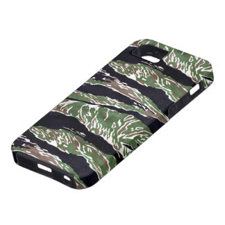 Asian Tiger Stripe Camouflage iPhone 5 Cases