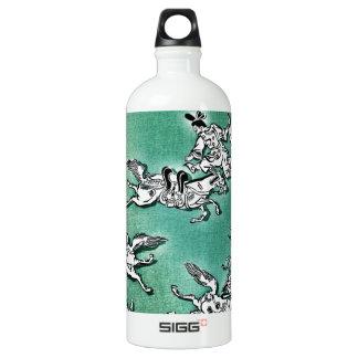 Asian warrior on horseback SIGG traveller 1.0L water bottle