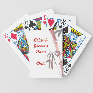 Asian Wedding deck of Playing Cards Favors