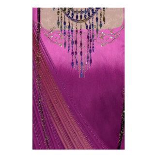 Asian Wedding Sari Custom Stationery