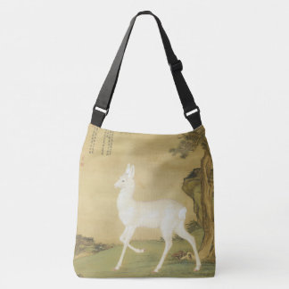 Asian White Roe Deer Wildlife Animals Tote Bag