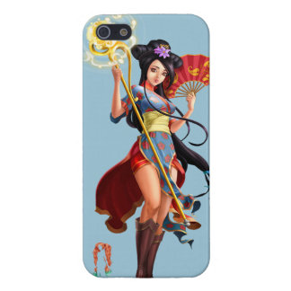 ASIAN WOMAN STAFF COVER FOR iPhone 5