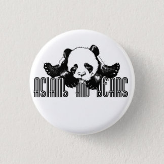 Asians and Bears Official Button