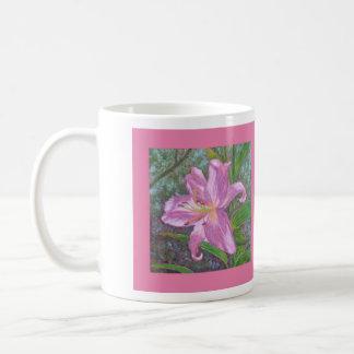 Asiatic lily mug